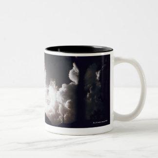 Space Shuttle Launch Two-Tone Coffee Mug