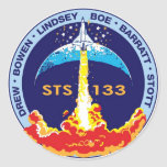 Space Shuttle Mission Patch Sticker