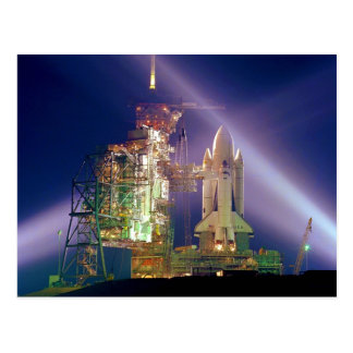 Space Shuttle Mission STS-1 Launch Pad A Postcard
