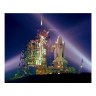 Space Shuttle Mission STS-1 Launch Pad A Posters