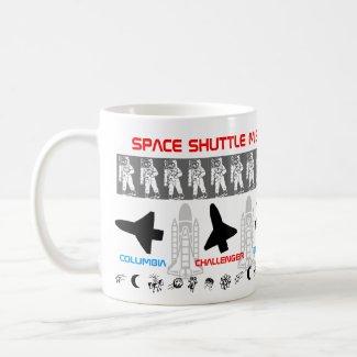 Space Shuttle Missions Mug 2 mug