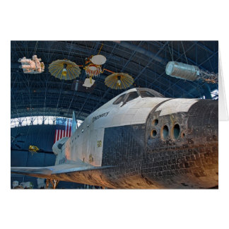 Space Shuttle Notecard Stationery Note Card