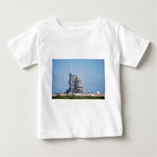 Space Shuttle on Launch Pad Baby T-Shirt