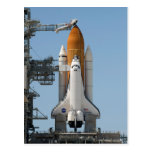 Space Shuttle on Launch Pad Postcard