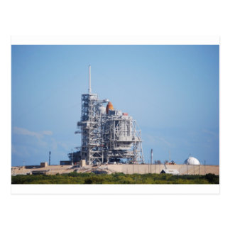 Space Shuttle on Launch Pad Post Cards