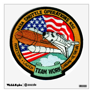 Space Shuttle Operations – KSC Wall Decal