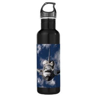 Space Shuttle Orbiting Earth 24oz Water Bottle