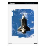 Space Shuttle Orbiting Earth 2 Decals For iPad 3