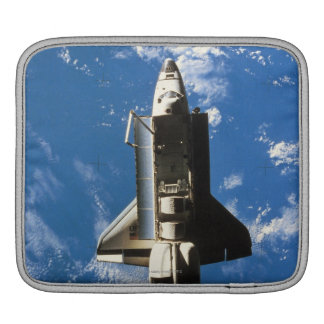Space Shuttle Orbiting Earth 2 iPad Sleeves