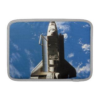 Space Shuttle Orbiting Earth 2 MacBook Air Sleeve