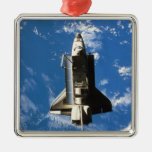 Space Shuttle Orbiting Earth 2 Ornaments