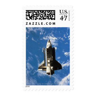 Space Shuttle Orbiting Earth 2 Postage