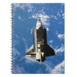 Space Shuttle Orbiting Earth 2 Spiral Note Books