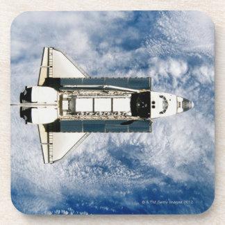 Space Shuttle Orbiting Earth 3 Coaster