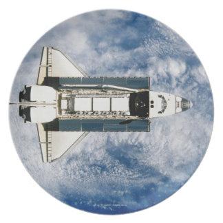 Space Shuttle Orbiting Earth 3 Dinner Plate