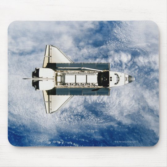Space Shuttle Orbiting Earth 3 Mouse Pad