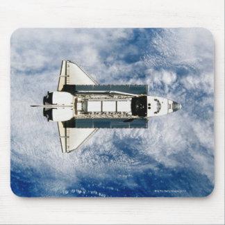 Space Shuttle Orbiting Earth 3 Mousepad
