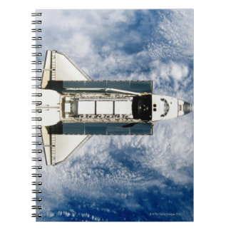 Space Shuttle Orbiting Earth 3 Notebook