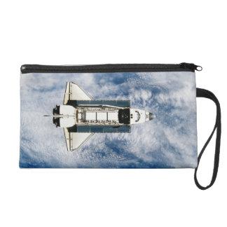 Space Shuttle Orbiting Earth 3 Wristlet