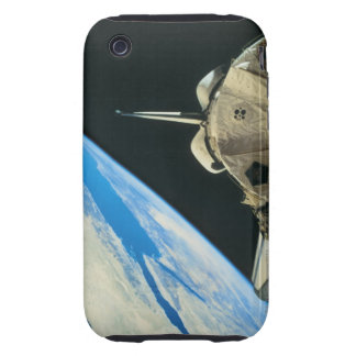 Space Shuttle Orbiting Earth 4 iPhone 3 Tough Case