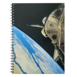 Space Shuttle Orbiting Earth 4 Notebook