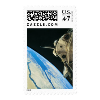 Space Shuttle Orbiting Earth 4 Postage