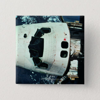 Space Shuttle Orbiting Earth Button