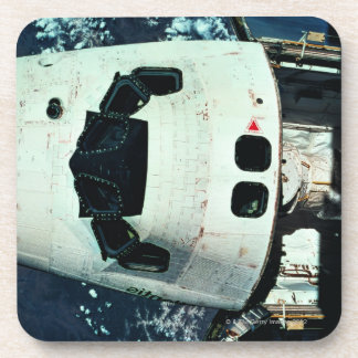 Space Shuttle Orbiting Earth Drink Coaster