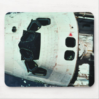 Space Shuttle Orbiting Earth Mouse Pad