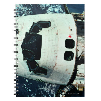 Space Shuttle Orbiting Earth Notebook