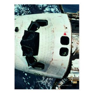 Space Shuttle Orbiting Earth Postcard