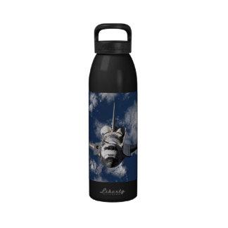Space Shuttle Orbiting Earth Water Bottles