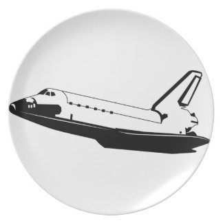 Space Shuttle Plate