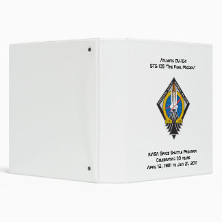 Space Shuttle Program Commemorative  Binder