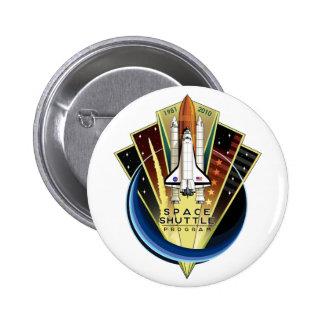 Space Shuttle Program Commemorative Patch Button