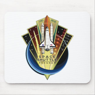 Space Shuttle Program Commemorative Patch Mouse Pad