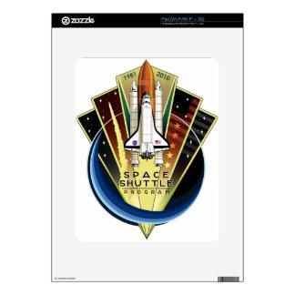 Space Shuttle Program Commemorative Patch iPad Decal