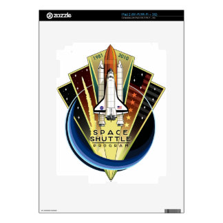 Space Shuttle Program Commemorative Patch Skins For iPad 2