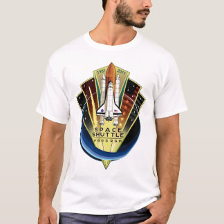 Space Shuttle Program Commemorative Patch T-Shirt