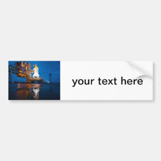 Space Shuttle Ready For Launch Bumper Sticker