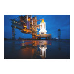 Space Shuttle Ready For Launch Gallery Wrap Canvas