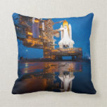 Space Shuttle Ready For Launch Pillow