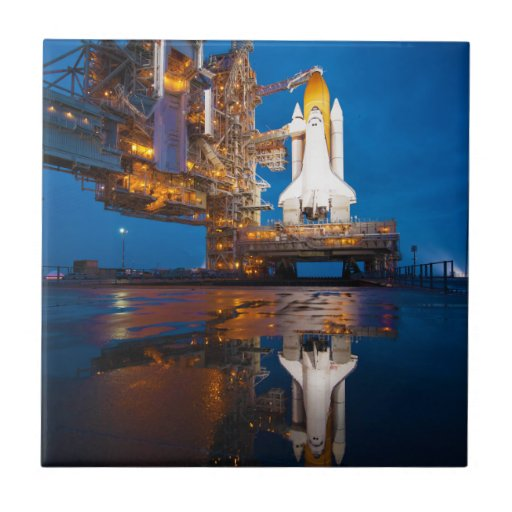 Space Shuttle Ready For Launch Tile