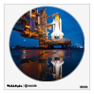 Space Shuttle Ready For Launch Room Decal