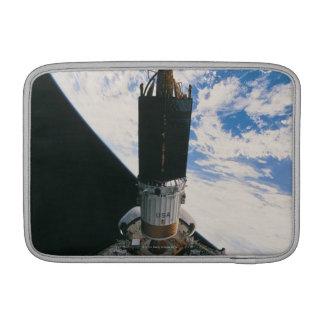 Space Shuttle Releasing Satellite MacBook Sleeve