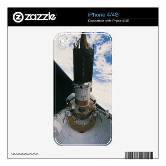 Space Shuttle Releasing Satellite iPhone 4 Skin