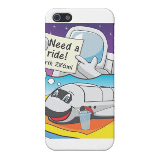 Space Shuttle Retirement Case For iPhone SE/5/5s