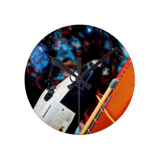 Space Shuttle Round Clock