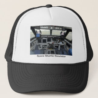 Space Shuttle Sim Aircraft Cockpit Trucker Hat