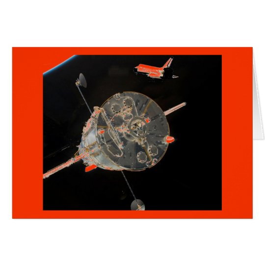 Space Shuttle SkyLab Card